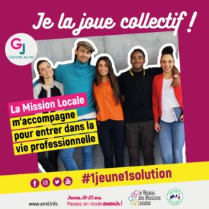 garantie jeunes collectif jeune solution avenir reseau mission locale saumur france relance